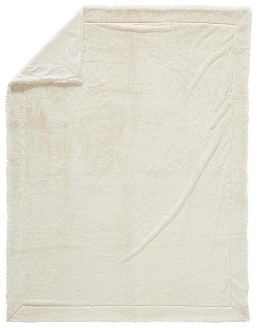 FELLDECKE 150/200 cm Beige - Beige, KONVENTIONELL, Textil (150/200cm) - Novel