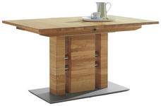 ESSTISCH in Holz, Metall 130(175)/90/75 cm   - Eichefarben, KONVENTIONELL, Holz/Holzwerkstoff (130(175)/90/75cm) - Moderano
