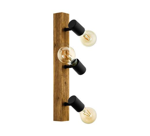 STRAHLER - Schwarz/Braun, LIFESTYLE, Holz/Metall (5/48cm)