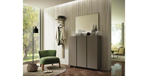 GARDEROBENPANEEL 33/167/31 cm  - Sandfarben, Design, Holzwerkstoff (33/167/31cm) - Moderano