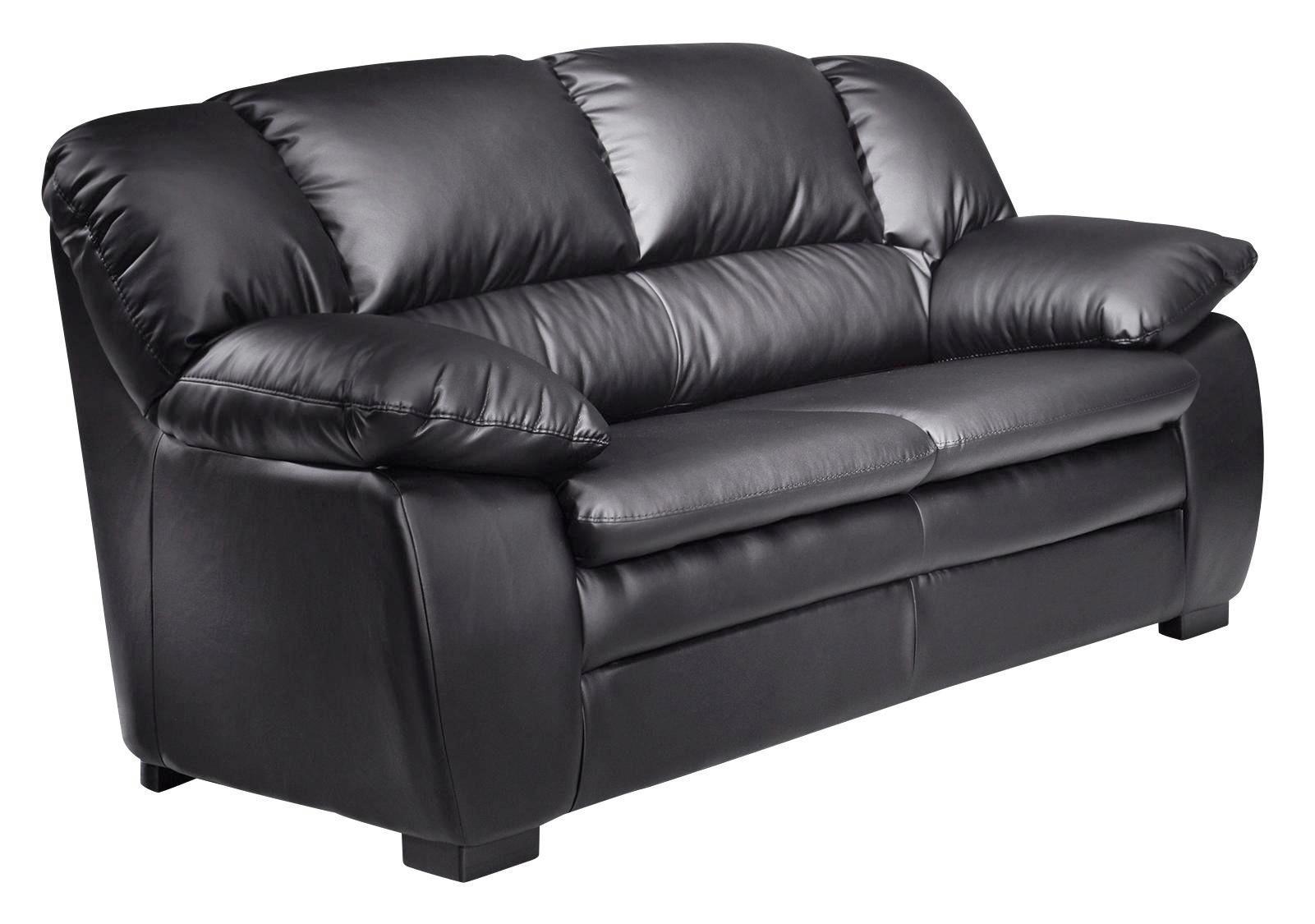Bezaubernd Zweisitzer Sofa Foto Von Schwarz - Maak Het U Gemakkelijk Om
