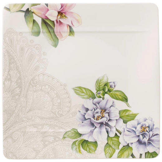 SPEISETELLER Keramik Bone China - Multicolor, Basics, Keramik (27/27cm) - Villeroy & Boch
