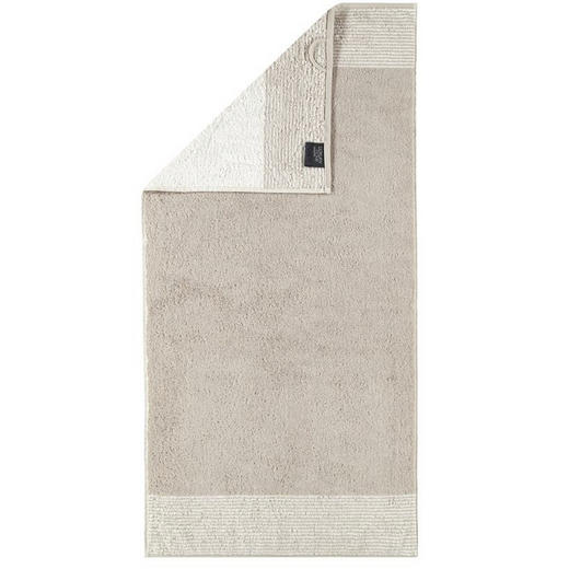 DUSCHTUCH 80/150 cm - Sandfarben, Design, Textil (80/150cm) - Cawoe