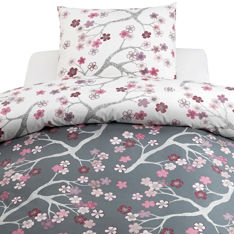 PÅSLAKANSET - vit/grå, Klassisk, textil (50/150/60/210cm)