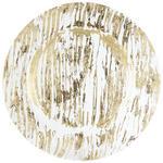 PLATZTELLER  34 cm  - Goldfarben, Trend, Glas (34cm) - Ambia Home