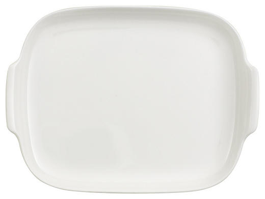 BUTTERDOSE Bone China - Weiß, Basics (15/20cm) - Villeroy & Boch