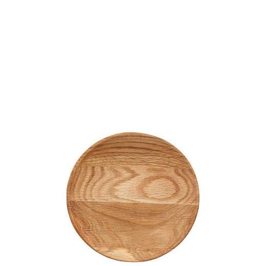TELLER Holz - Eichefarben, Basics, Holz (17cm)