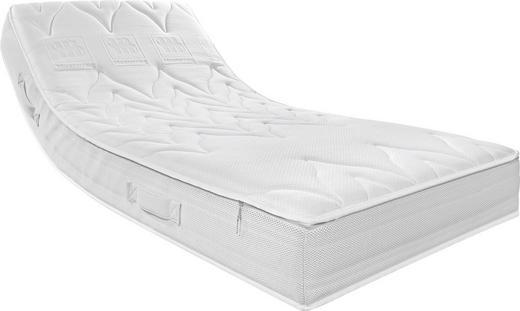 TASCHENFEDERKERNMATRATZE 140/200 cm - Weiß, Basics, Textil (140/200cm) - MUSTERRING