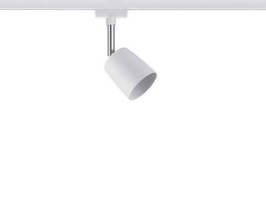 URAIL SCHIENENSYSTEM-STRAHLER - Weiß, Design, Metall (5,8/14/9cm) - Paulmann