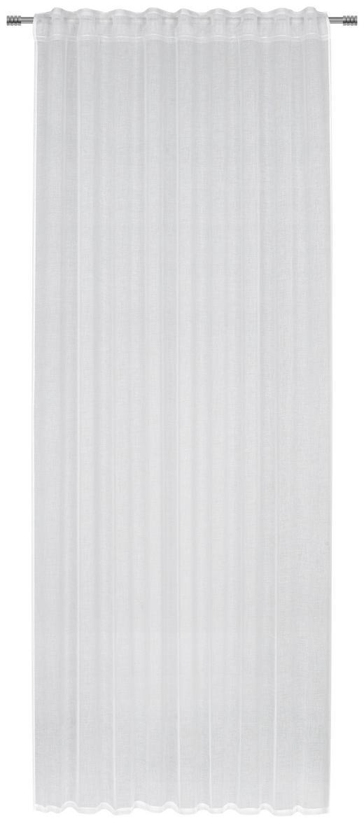 FERTIGVORHANG  halbtransparent  140/245 cm - Weiß, Basics, Textil (140/245cm) - Esposa