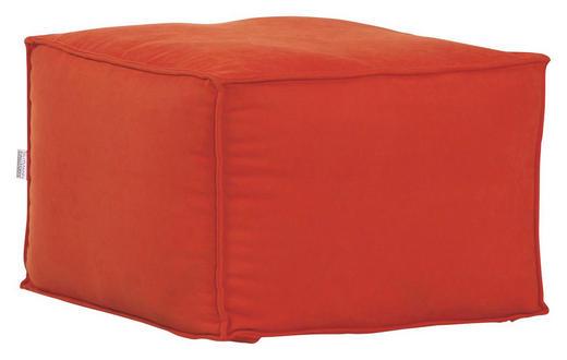SITZWÜRFEL Flachgewebe Orange - Orange, Design, Textil (65/45/65cm) - Carryhome