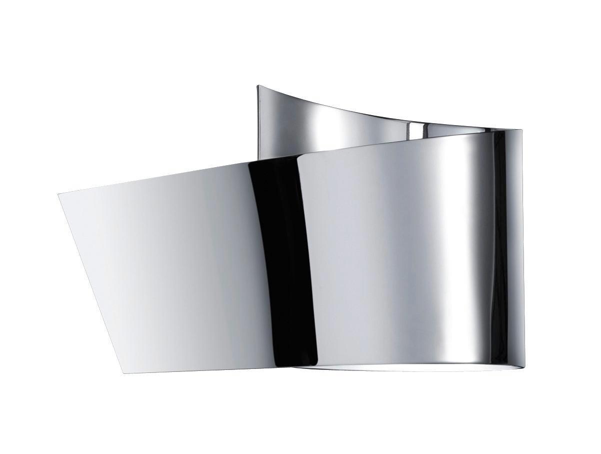 BADEZIMMER WANDLEUCHTE   Chromfarben, Design, Kunststoff/Metall (12,0/