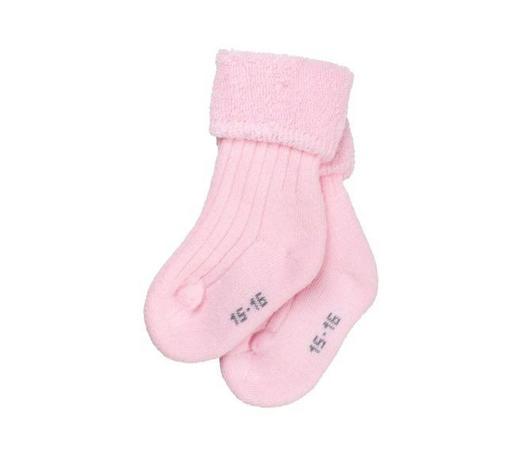 SOCKEN - Rosa, Basics, Textil (12,5/8/2cm) - Sterntaler