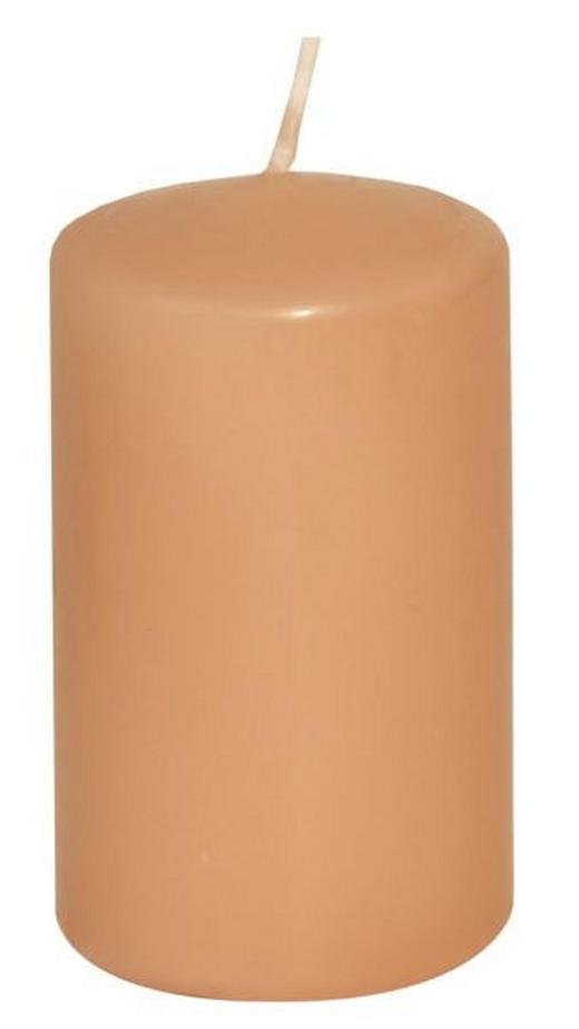 STUMPENKERZE 4,7/8 cm - Beige, Basics (4,7/8cm)