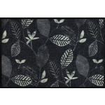 FUßMATTE 50/75 cm Grau, Schwarz  - Schwarz/Grau, Basics, Kunststoff/Textil (50/75cm) - Esposa
