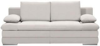 SCHLAFSOFA in Textil Beige  - Chromfarben/Beige, MODERN, Textil (203/90/102cm) - Carryhome