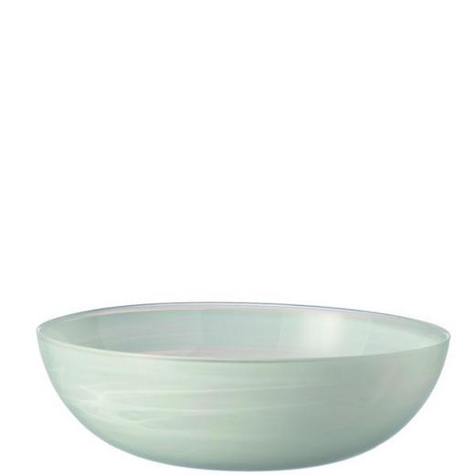 SCHALE Glas - Weiß, Basics, Glas (28/9cm) - Leonardo