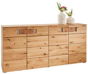 SIDEBOARD Kerneiche furniert, massiv geölt Eichefarben - Eichefarben, KONVENTIONELL, Holz/Holzwerkstoff (180/83/43cm) - Cantus