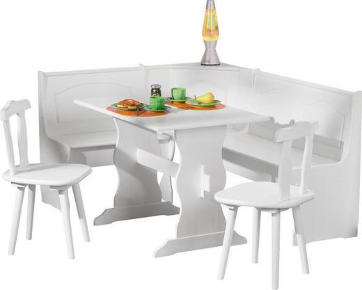 ECKBANKGRUPPE Weiß - Weiß, LIFESTYLE, Holz (172/86/50cm) - Carryhome