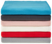 Fleecedecke Tina *ph* - Beige, KONVENTIONELL, Textil (130/160cm) - Ombra