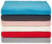 Fleecedecke Tina *ph* - Silberfarben, KONVENTIONELL, Textil (130/160cm) - Ombra