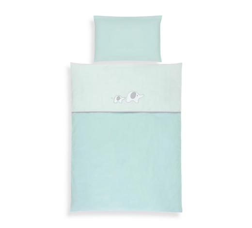 BABYBETTWÄSCHE 100/135 cm - Mintgrün, Basics, Textil (100/135cm) - My Baby Lou