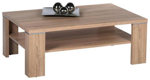 COUCHTISCH rechteckig Eichefarben - Eichefarben, Design (110/70/40cm) - Carryhome