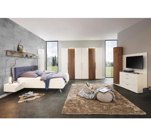 schlafzimmer in nussbaumfarben wei nussbaumfarbenwei design holzholzwerkstoff - Weie Schlafzimmer