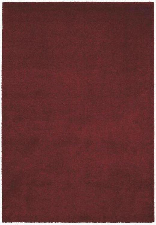 HOCHFLORTEPPICH  160/230 cm   Dunkelrot - Dunkelrot, Basics, Textil (160/230cm) - Novel