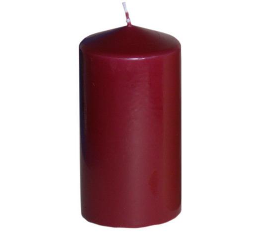 SVÍČKA - tmavě červená, Basics (7,7/15cm) - Steinhart