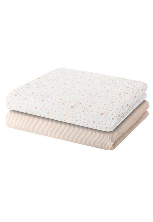 WINDEL - Taupe/Weiß, Basics, Textil (80/80cm) - BELLY BUTTON