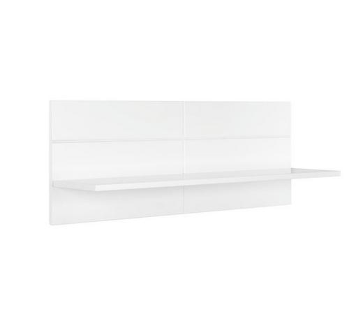 WANDBOARD Weiß  - Weiß, Trend (90/35/25cm) - My Baby Lou