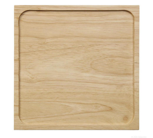 Tablett Holz Hellbraun Natur 25 2cm