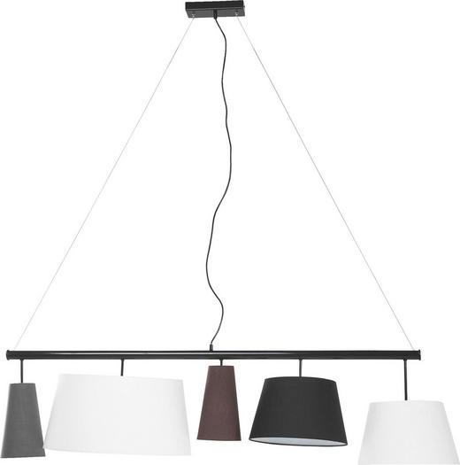 HÄNGELEUCHTE - Multicolor, Design, Textil/Metall (140/50/50cm) - Kare-Design