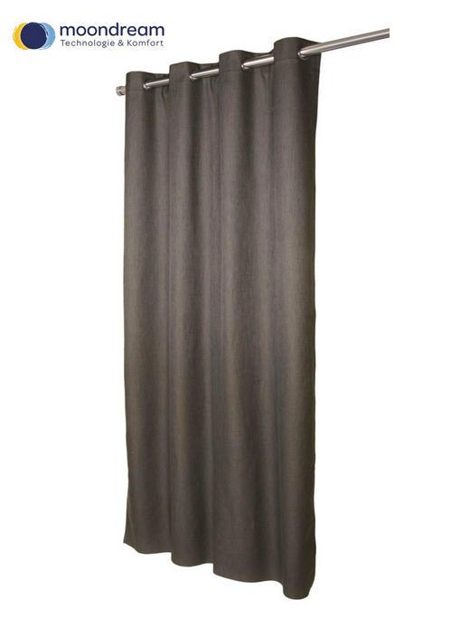 VERDUNKELUNGSVORHANG  black-out (lichtundurchlässig)  135/260 cm - Dunkelbraun, Textil (135/260cm)