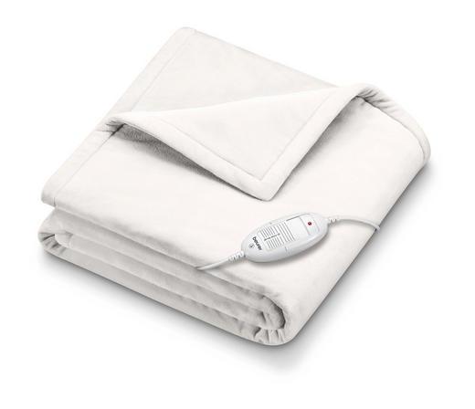 WÄRMEZUDECKE HD 75 - Weiß, KONVENTIONELL, Textil (130/180/cm) - Beurer