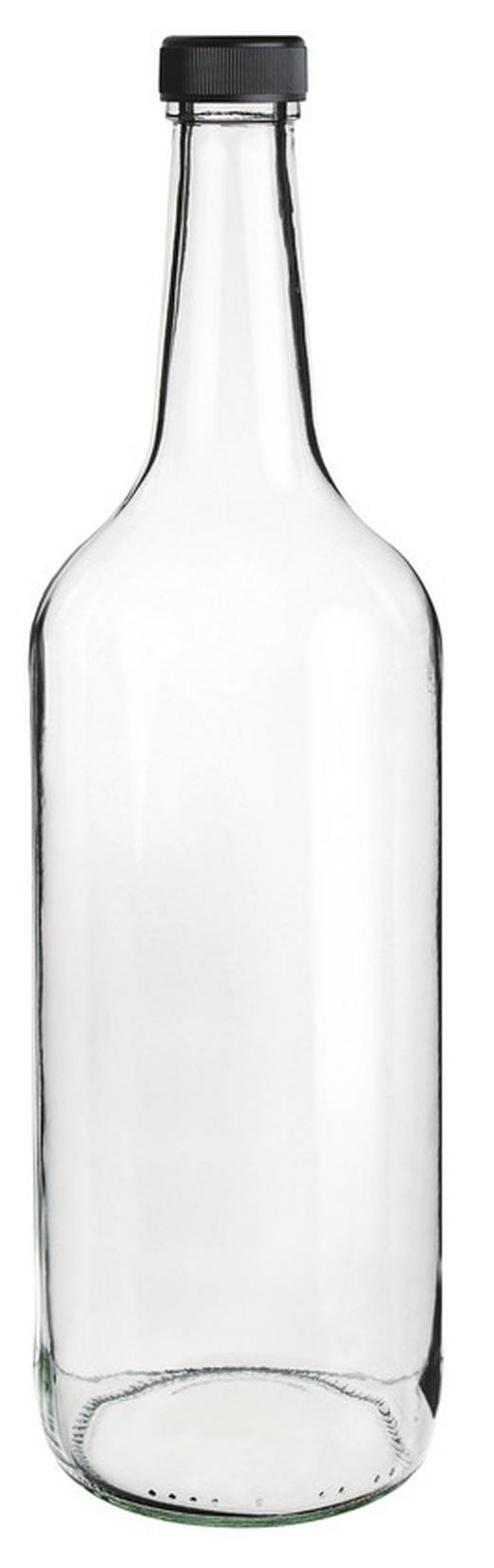 SAFTFLASCHE 1 l - Klar, Basics, Glas (1l) - Homeware
