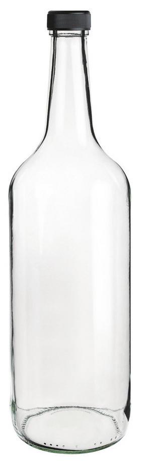 SAFTFLASKA - klar, Basics, glas (1l) - Homeware