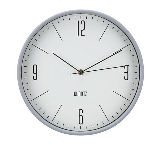 WANDUHR 30 cm   - Schwarz, Basics, Kunststoff (30cm) - Boxxx