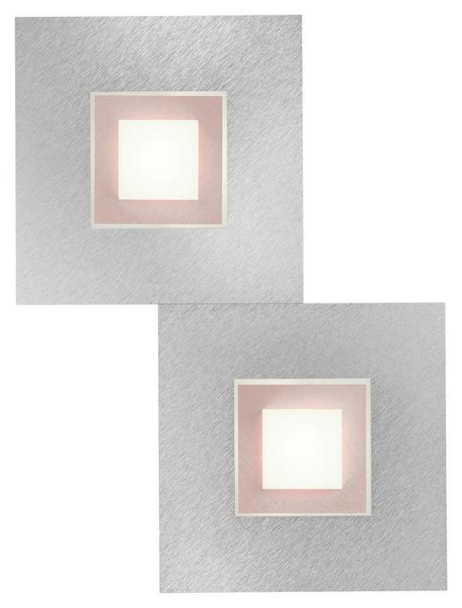 LED-DECKENLEUCHTE - Kupferfarben, Design, Metall (40/30/5cm) - Großmann