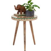 ODKLÁDACÍ STOLEK - přírodní barvy, Trend, dřevo/sklo (40/50cm) - Ambia Home