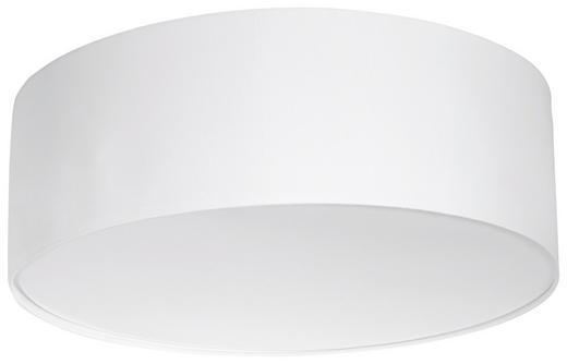 DECKENLEUCHTE - Weiß, KONVENTIONELL, Textil/Metall (50cm)