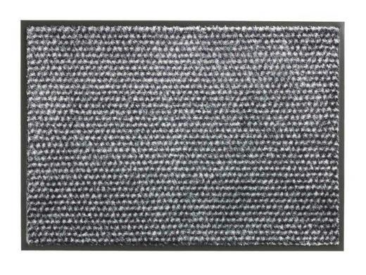 FUßMATTE 50/70 cm - Anthrazit, KONVENTIONELL, Textil (50/70cm) - Schöner Wohnen