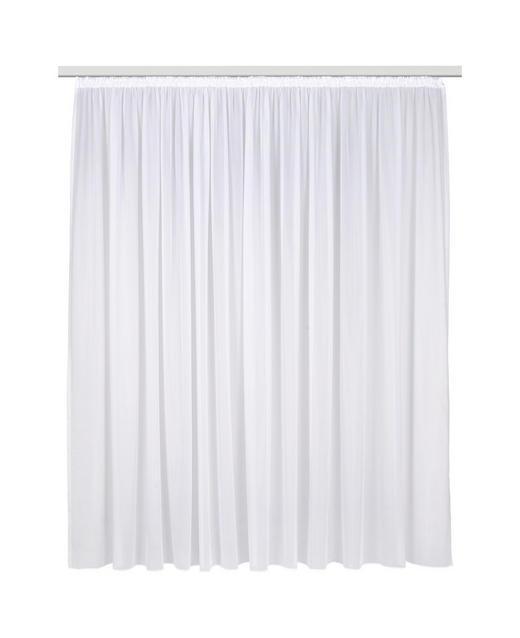 FERTIGVORHANG  halbtransparent  450/245 cm - Weiß, Basics, Textil (450/245cm) - Ambiente