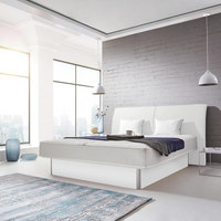Wasserbett inkl. Montage 180/200 cm - Weiß, MODERN, Textil (180/200cm) - Novel
