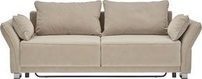 BÄDDSOFFA - beige, Design, textil (270/80/100cm) - Premium Living