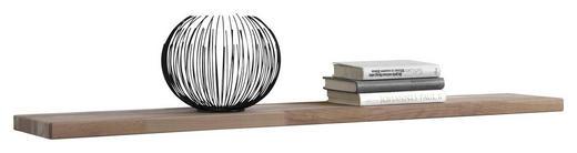 WANDBOARD Wildeiche massiv Eichefarben - Eichefarben, LIFESTYLE, Holz (120/3/20cm) - Carryhome