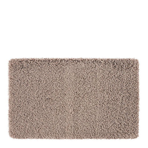 BADEMATTE  Taupe  60/100 cm - Taupe, Basics, Kunststoff/Textil (60/100cm) - Esposa