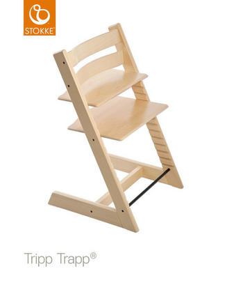 Stokke Tripp Trapp - naturfärgad, Lifestyle, trä (46/79/49cm) - Stokke