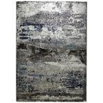 WEBTEPPICH  - Blau/Silberfarben, Design, Textil (160/230cm) - Novel